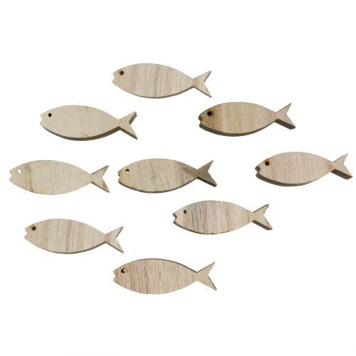 Streudeko Holzfische 5cm 16St