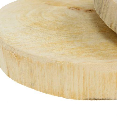 Holzscheiben Natur Ø15cm 2St