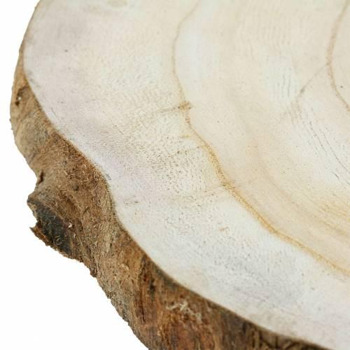 Holzscheibe Natur Ø25-32cm