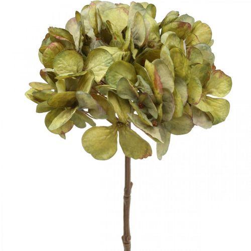 Hortensie künstlich Grün Kunstblume 64cm