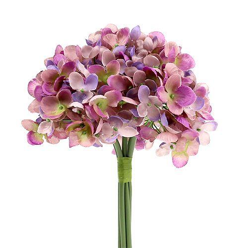Hortensienbund L25cm Violett