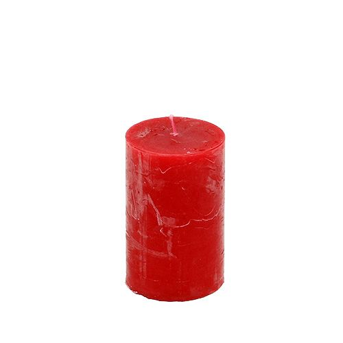 Kerze Rot 50mm x 80mm 12St
