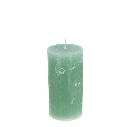 Kerze Weihnachten Jade 50mm x 100mm 12St