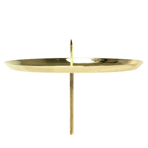 Kerzenhalter Gold Ø10cm 4St