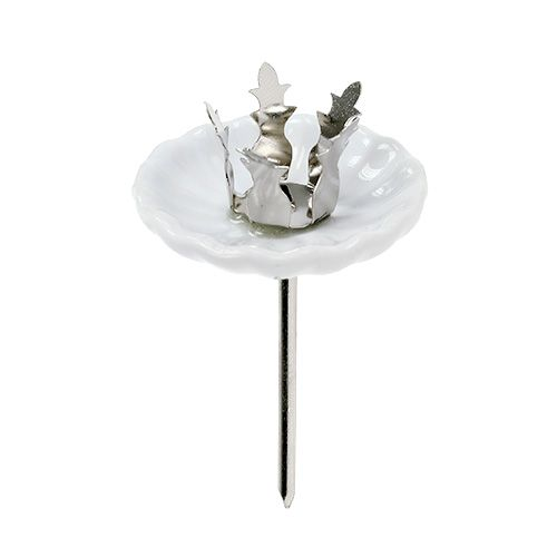 Kerzenhalter für Baumkerzen Ø4cm H7cm 4St