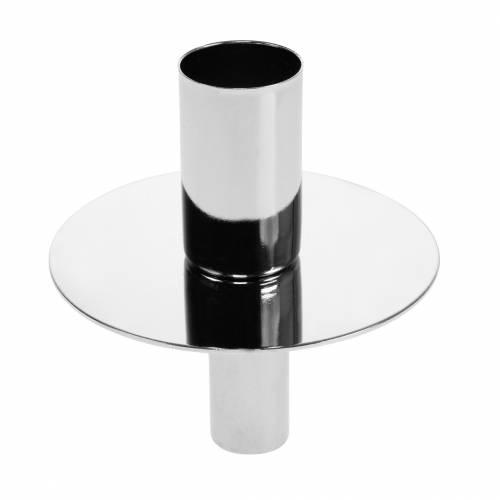 Kerzenhalter für Flaschen Silbern Ø7,5cm H8cm