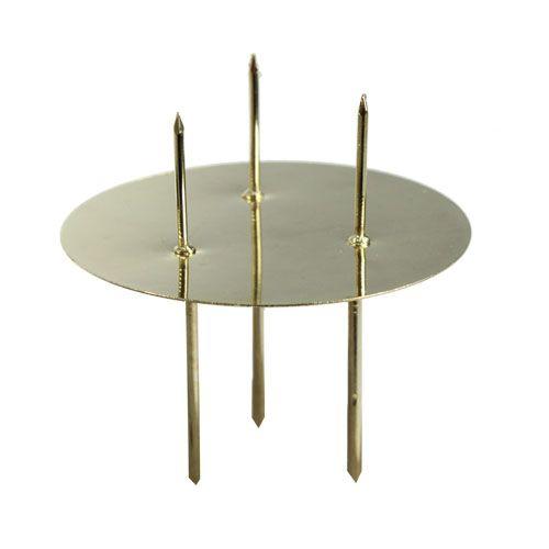 Kerzenhalter Gold Ø8cm