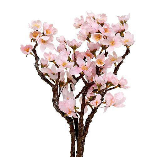 Blütenrispe blau 70 cm 3 fach verzweigt Kunstblumen Seidenblumen Deko Blume