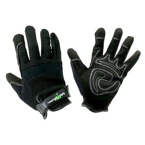 Kixx Lycra Synthetik Handschuhe Gr.10 Schwarz