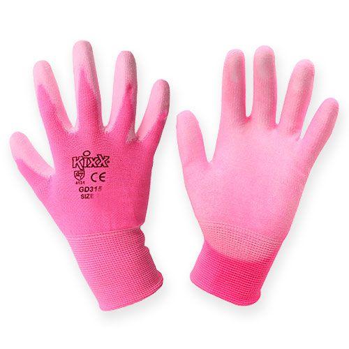 Kixx Gartenhandschuhe Gr.8 Rosa, Pink