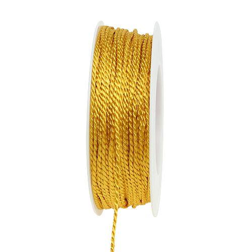 Kordel Gelb 2mm 50m