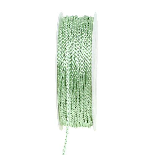 Kordel Hellgrün 2mm 50m