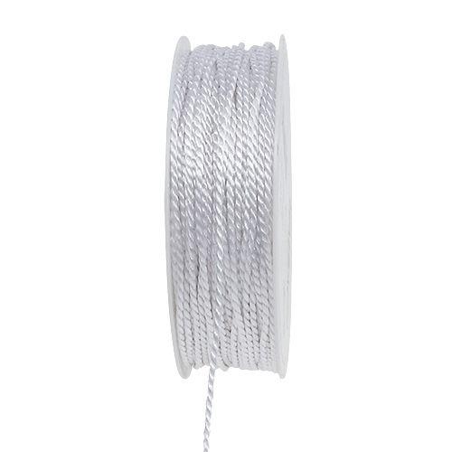 Kordel Weiß 2mm 50m