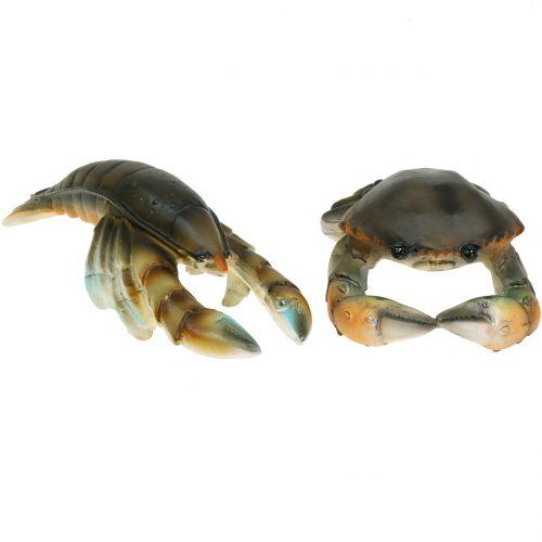 Deko Krabbe und Hummer 11cm – 15cm