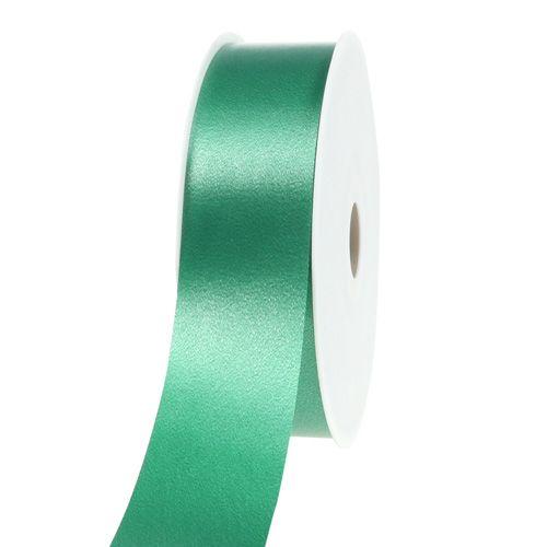 Kräuselband dunkelgrün 40mm 100m
