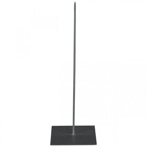 Kranzhalter Schwarz Metall Kranzständer H30cm