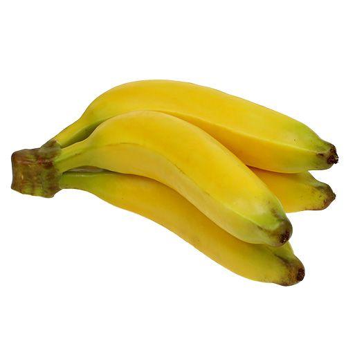 Künstlicher Bananenbund Gelb 23cm