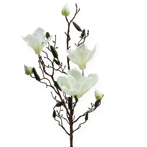 Magnolienzweig künstlich Creme 90cm
