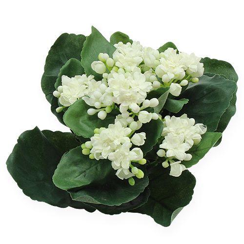 Kalanchoe Kunstblume Weiß 18cm