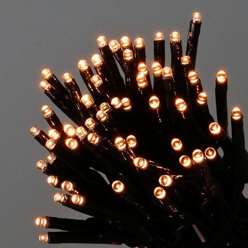 LED Reislichterkette 80er 9m für außen Warmweiß