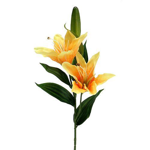 Lilie künstlich Orange L66cm 1St