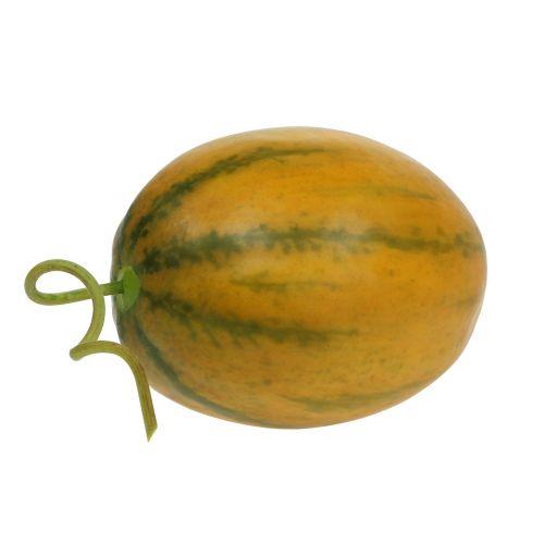 Melone künstlich Gelb Ø10cm 13cm