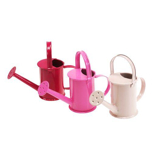 Mini-Gießkannen Pink Rosa Ø4cm 12St