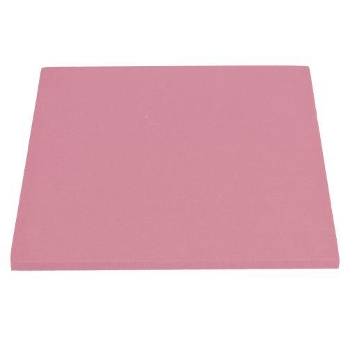 Steckschaum Designer Platten Steckmasse Altrosa 34,5cm × 34,5cm 3St