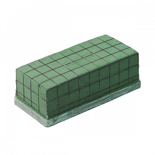 OASIS® Ecobase Ziegel Steckschaum 24cm x 11,2cm x 8,5cm 4St