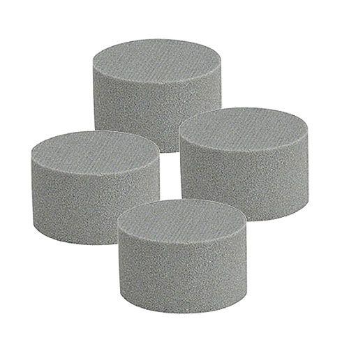 Steckschaum Zylinder Trocken-Steckmasse Grau H5cm Ø8cm 20St
