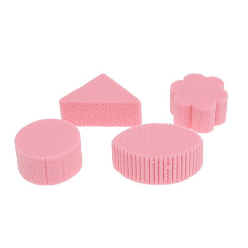 Oasis Rainbow Canapes Rosa 5cm 45St