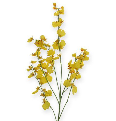Oncidiumzweig in Gelb 97cm