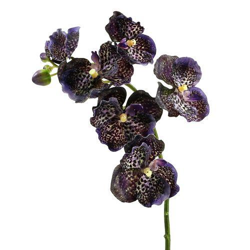 Orchidee Vanda künstlich Violett L 44cm