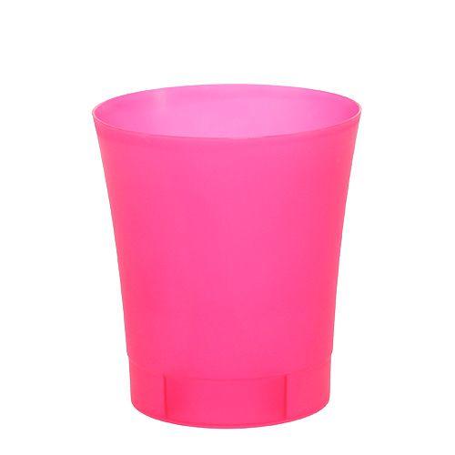 Orchideentopf Plastik Pink Ø12,5cm H14cm