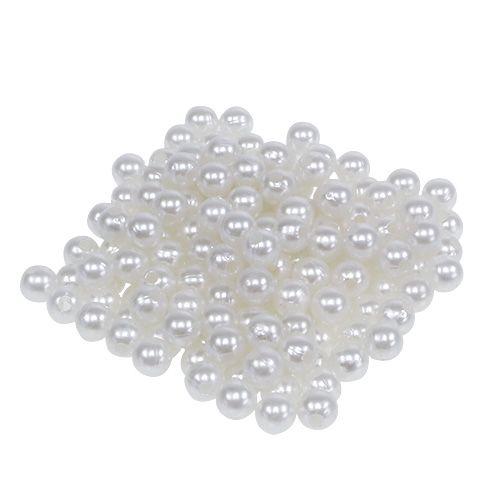 Perlen Ø0,8cm Weiß 200g