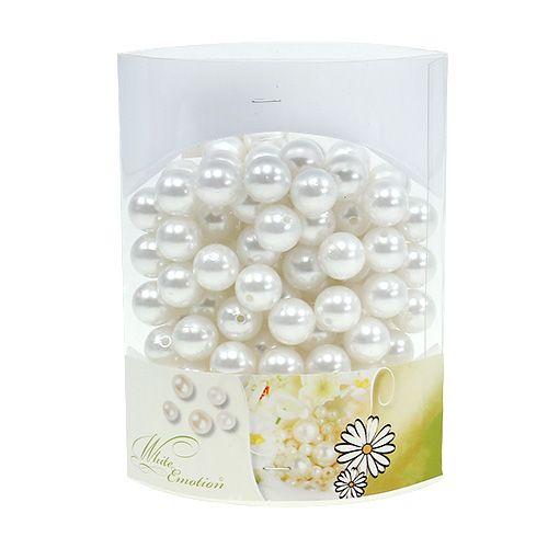 Perlen Weiß Ø1,6cm 200g