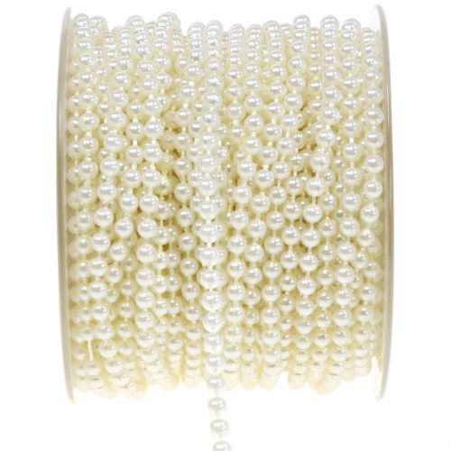 Perlenband Crème 4mm 20m