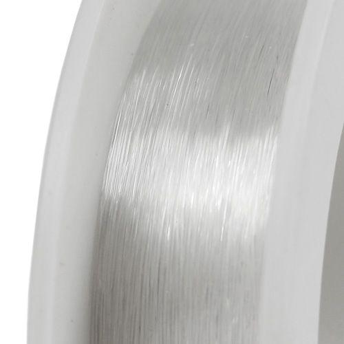 Perlenfaden Transparent 0,25mm 50m