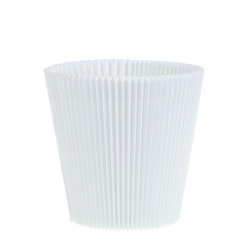 Plisseemanschetten Weiß 12,5cm 100St