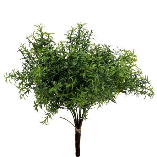 Künstlicher Rosmarinzweig Grün 35cm 3St