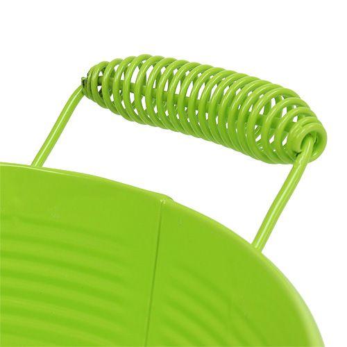 Schale rund Apfelgrün Ø22cm H9,5cm