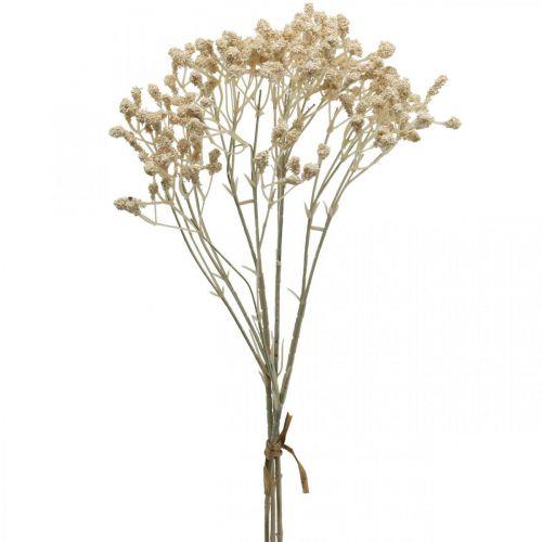 Künstliches Schleierkraut Creme Gypsophila 46cm Bund à 3St