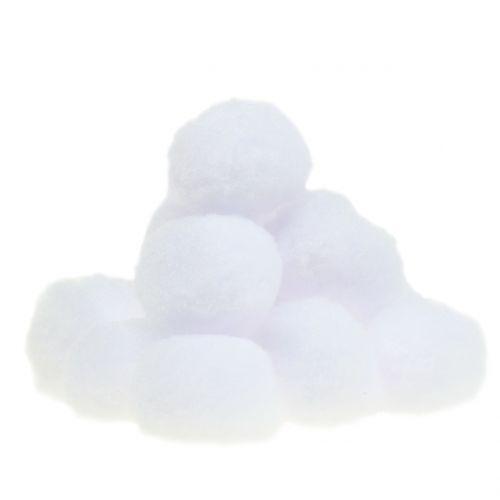 Schneeball Weiß 4cm 24St