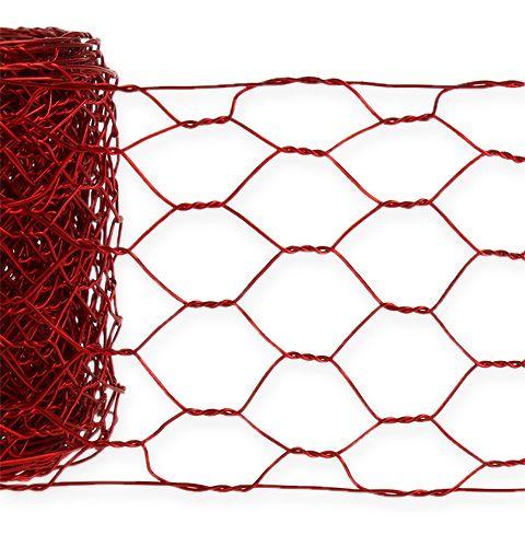 Sechseckgeflecht 50mm 5m Rot
