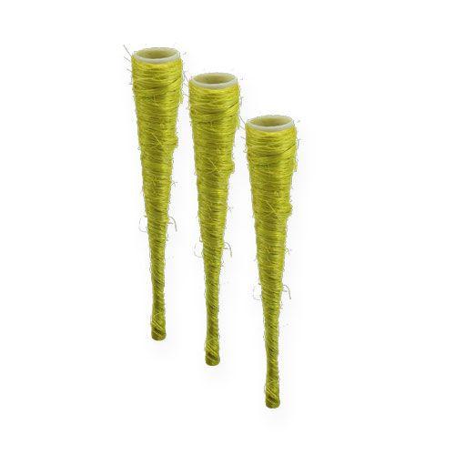 Sisaltüte Hellgrün Ø1,5cm L15cm 20St