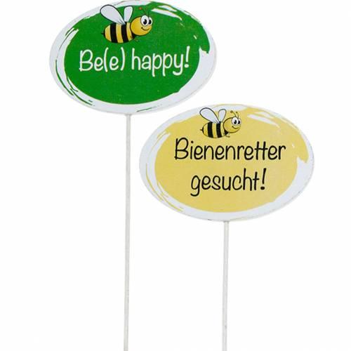 """Gartenstecker """"Bienenretter"""" Frühlingsdeko Sommerdeko 20St"""