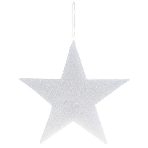 Stern groß zum Hängen Weiß 45cm L56cm 1St