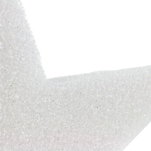 Stern zum Hängen Weiß 37cm L48cm 1St