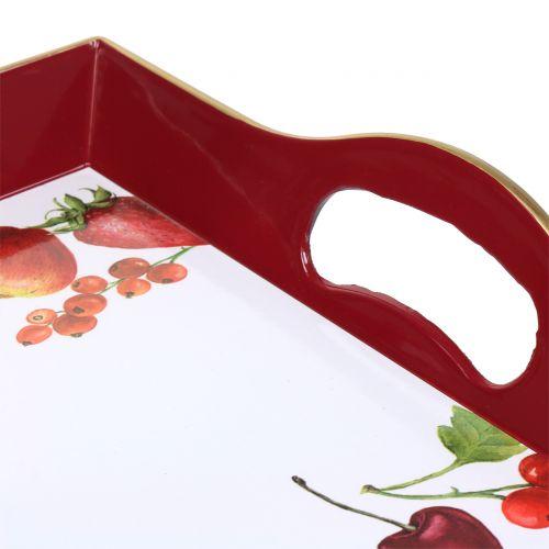 Tablett Sommer 49x32,5cm