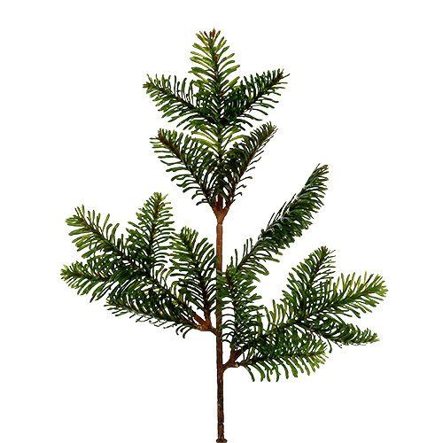 Tannenzweig künstlich 36cm Grün 2St